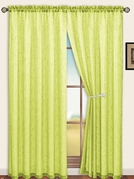 Sterling Rod Pocket Curtain Panel (Lime Green)