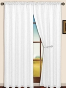 Sterling Rod Pocket Curtain Panel (White)
