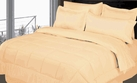 Stripe Comforter/Bed in a Bag Set (Beige/Ivory)