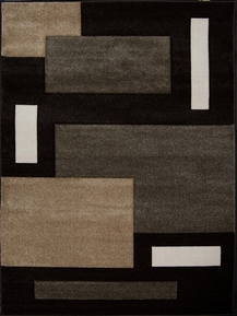 Sumatra Area Rug (Dark Brown) 5x8