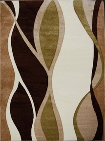 Sumatra Area Rug (Green/Brown) 5x8