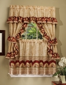 Sunflower Kitchen Curtain Set