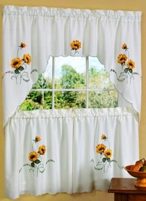 Sunshine Kitchen Curtain Set