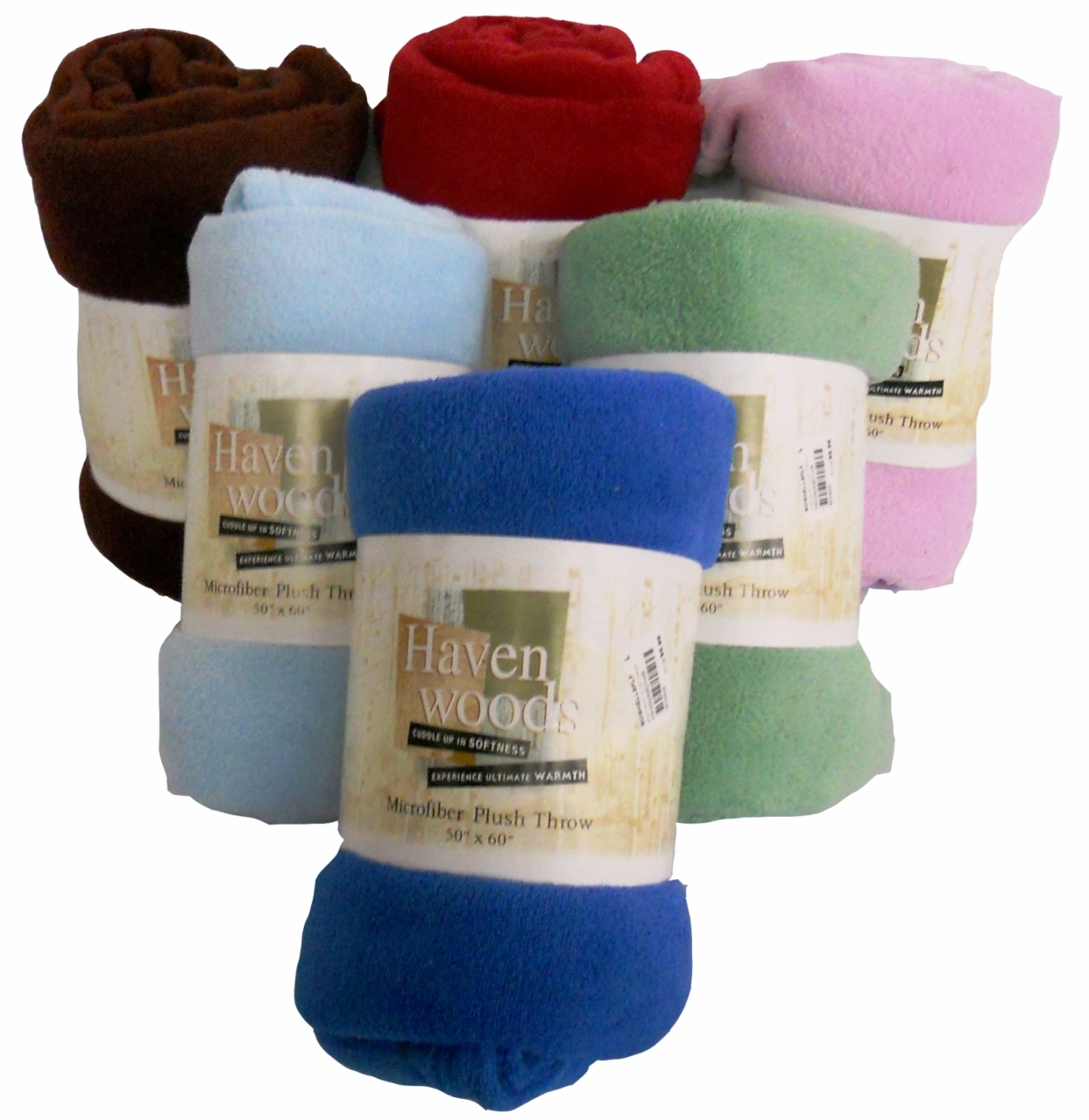 Super Soft Microfiber Plush Throw