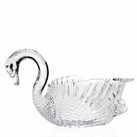 Swan Serving Bowl Crystal