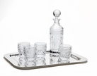 Symphony 6pc Whiskey Decanter Set