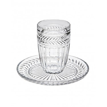 Symphony Kiddish Cup & Plate Set