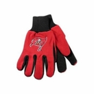 Tampa Bay Bucaneers Two Tone Gloves