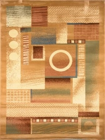 The Madlena Modern Geometric Area Rug