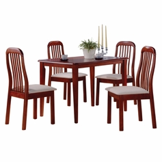 Timber 5 Piece Dinette Set