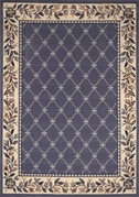 Traditional Premium 4x6 Area Rug (Country Blue)