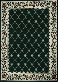 Traditional Premium 5x8 Area Rug (Hunter)