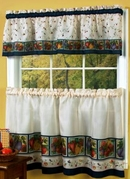 Veggies Kitchen Curtain Set