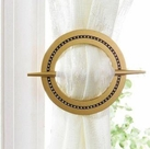 Venice Curtain Hold Backs (Set of 2) (Gold)