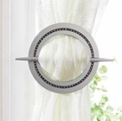 Venice Curtain Hold Backs (Set of 2) (Silver)