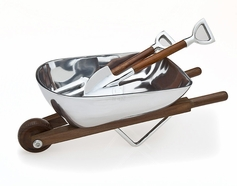 Wheelbarrow Salad Bowl/Servers