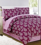 Woodblock Paisley Complete Bed in a Bag Set