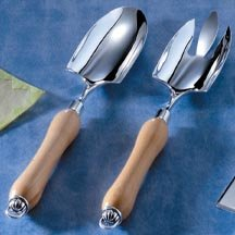 Wooden Handle Salad Set