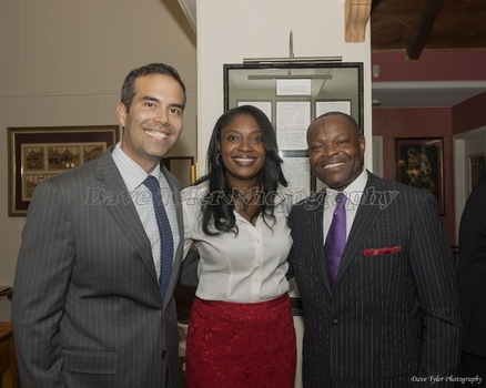 George P. Bush at Home of Edward Okpa - 09/17/2014
