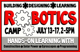 "<FONT COLOR=""#fcf901"">ROBOTICS SUMMER CAMP</Font>"