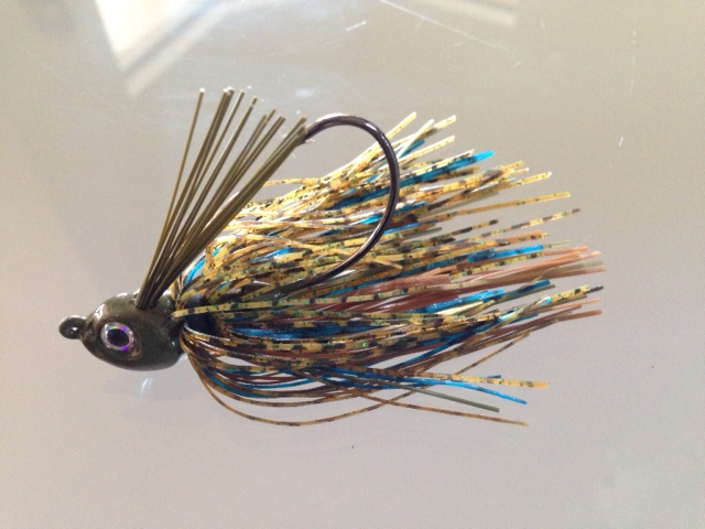 DML BASS FLIPPING JIG MUSTAD HOOK FISHING TACKLE BAITS LURES