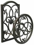 Innova Deluxe Scroll Cast Garden Hose Holder  C823-85