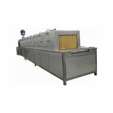 24 Inch Conveyor parts washer, through washer, tunnel washer with washing, rinsing and drying stages