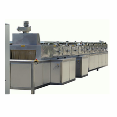 32 Inch Conveyor parts washer, through washer, tunnel washer with washing, rinsing and drying stages