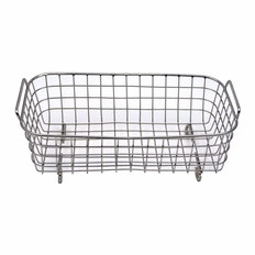 "3L Stainless Steel Basket Dimensions 8""L x 4""W x 2""Deep"