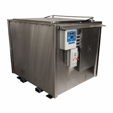 Industrial Ultrasonic Cleaner; 4'x3'x4'