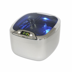 "Sharpertek Digital Ultrasonic Cleaner cd-7920 Larger Tank with the Highest Power Among the Personal Cleaners Tank Size 5.8""x4.9""x1.8"" ( L x W x H )"