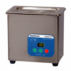 "SHARPERTEK® Ultrasonic Cleaner S50-0_7L 6"" x 3.5"" x 2.5"" (Tank L x W x Depth)"