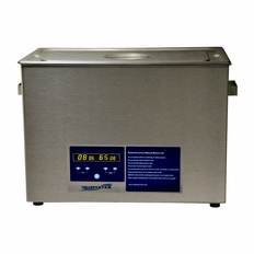 Heated Ultrasonic Cleaning System SH600-25L 18.5Lx11.5WX8D 7.5 Gallons with Sweep and Degas. Made in USA!