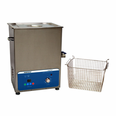 "Heated Ultrasonic Cleaner XPS450-11L 12""�9""�6"" (Tank L�W�Depth) with Sweep and Degas. Made in USA!"