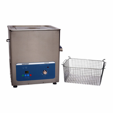 "Heated Ultrasonic Cleaner SH500-20L 12.5""�11""�10"" (Tank L�W�Depth) with Sweep and Degas. Made in USA!"
