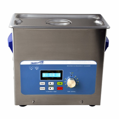 "Heated Ultrasonic Cleaner XPS360-6L with Sweep and Degas 11.75"" � 6"" � 6"" (Tank L � W � Depth) Made in USA!"