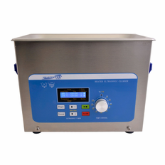 "Heated Ultrasonic Cleaner XPS240-4L 12"" � 6"" � 3.75"" (Tank L � W � Depth)  with Sweep and Degas. Made in USA!"