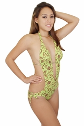 Lime Green Royals Side String