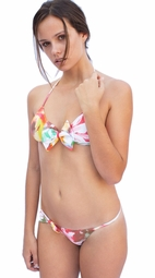 Color Palette Bow Thin Brief