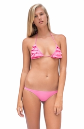 TROPICAL DESEJO <br> Classic Pink Bow Back