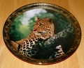 1995 Plate Emperor of His Realm Series Name Portraits of Majesty - Leopard
