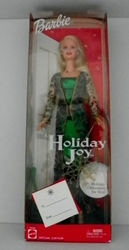 Barbie Doll 2003 Holiday Joy Special Edition with Holiday Ornament NRFB