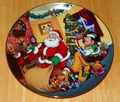 Collector Plate from Mickey's Holiday Magic Series. Issue 4 of 4 titled: Special Delivery