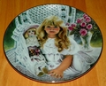 Collector Plate Knowles, Titled Anna 1st issue Heirlooms and Lace series