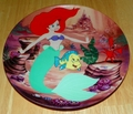 Disney Collector Plate The Little Mermaid Collection Series. Plate 4 of 8 titled:  Underwater Buddies