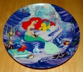 Collector Plate The Little Mermaid Collection Series. Plate 5 of 8 titled:  Ariel's Treasured Collection