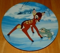 Disney Collector Plate Bambi's Skating Lesson From Bambi Series