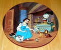 Disney Collector Plate Beauty and the Beast ENCHANTE`, CHERIE Box & COA Incl