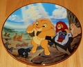 Disney Collector Plate Lion King The Circle of Life 1994 1st Issue