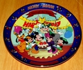 Disney Collector Plate Titled Mickey's 65th Birthday Sixth Issue in the Disney Mickey and Minnie Through the Years